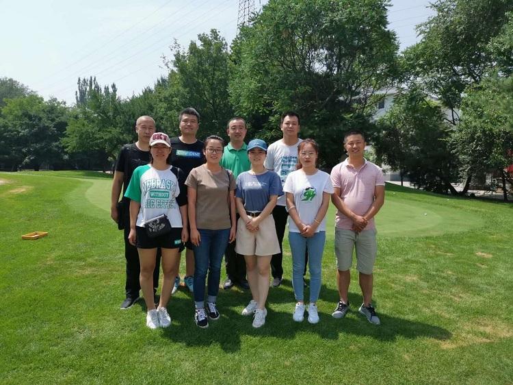 山西天罡高爾夫團建活動